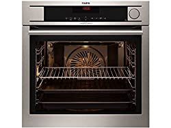 AEG BS8304101M ProCombi multi-steamer / steam oven / built-in / 70 liter / stainless steel / with 24 oven functions