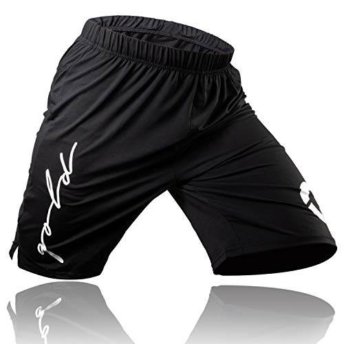 Gold BJJ Jiu Jitsu Shorts - IBJJF Approved No Gi Fight Short - for...