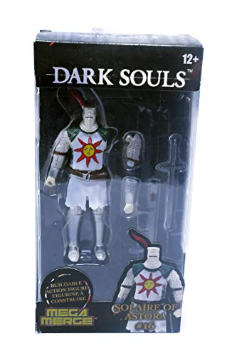Just Toys LLC Dark Souls Mega Merge - Series 1 (Black Knight, Solaire of Astora) (Solaire of Astora)