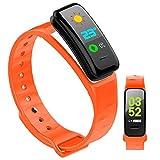 HQPCAHL Smart WatchIP67 Natación Impermeable Smartwatch Fitness Tracker Reloj de Fitness Monitor de frecuencia cardíaca Relojes