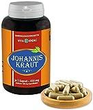 VITAIDEAL ® Johanniskraut (Hypericum perforatum) 90 Kapseln je 450mg, aus rein natürlichen...