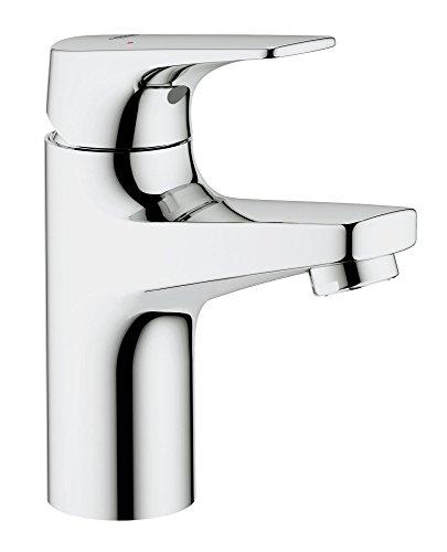 Grohe Bauflow Single-lever Basin Mixer (Silver, 32851000)