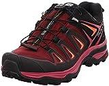 Salomon X Ultra 3 GTX W, Zapatillas de Senderismo Mujer, Morado (Tawny Port/Black/Living Coral 000), 38 2/3 EU