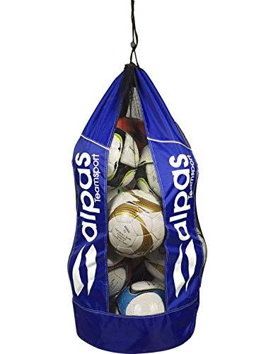 Ballsack für 10-12 Bälle / Balltasche von alpas / 4 Farben lieferbar *NEU* (Blau)