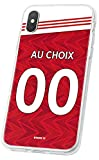 MYCASEFC Coque Football Personnalisable Gunners Huawei Honor View 10 en Silicone. Housse de Foot...
