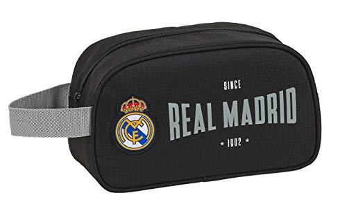 safta 812024248 Neceser, Bolsa de Aseo Adaptable a Carro Real Madrid CF, Multicolor
