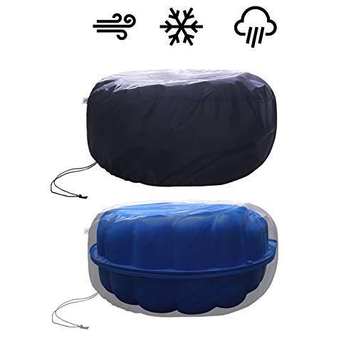 fantifant Abdeckplane für Sandmuschel/Wassermuschel schützt vor Wind, Regen und Tieren