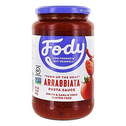 FODY - Low FODMAP Gluten Free Pasta Sauce Arrabbiata - 19.4 oz.