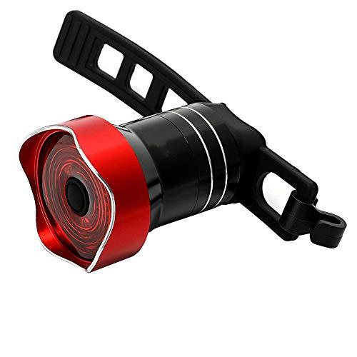 Cola De La Bicicleta De Luz, La Luz Posterior De La Bici, Lámpara De Ciclo De La Bici del Freno Trasero Luz De Advertencia Lámpara De Inducción para Montar a Caballo Rojo Seguridad
