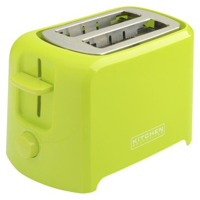 Kitchen Selectives Cool-Touch 2 Slice Toaster - Lime Green