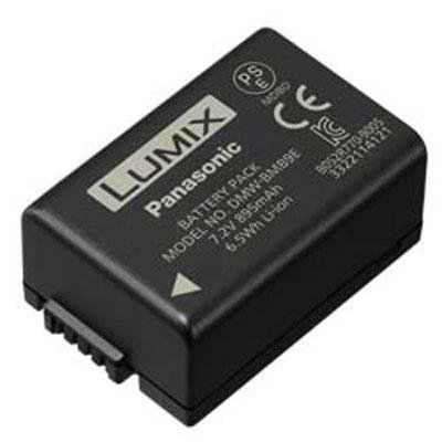 Panasonic Lithium-Ion Battery DMW-BMB9 for Lumix Cameras FZ100K FZ40K Fz80 Fz70, Black
