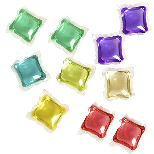 CXHM Líquido de Lavado de Viaje Gel de lavandería, Detergente en Forma de Bola de lavandería, Perlas de Bola de lavandería
