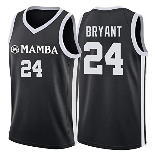 CNMDG Black Mamba Kobe y Gigi Jersey para, Lakers 2# 8# 24# Camisetas de Baloncesto, Fan Jersey Training Ropa de Entrenamiento T-Shirt Regalo (XS-XXL) Kobe-XS