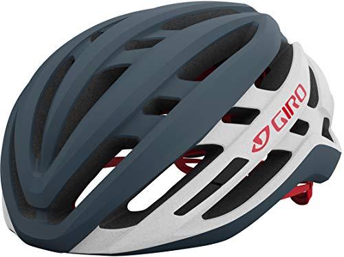 Giro Men's Agilis Mips Helmet, Matte Portaro Grey/White/Red, M