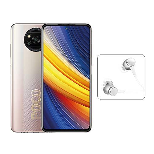 Poco X3 Pro Smartphone 6GB 128GB 120Hz 6.67'FHD + LCD DotDisplay Qualcomm SnapdragonTM 8605160mAh (typ) Batería 48MP Cámara Dorada [Versión Global]