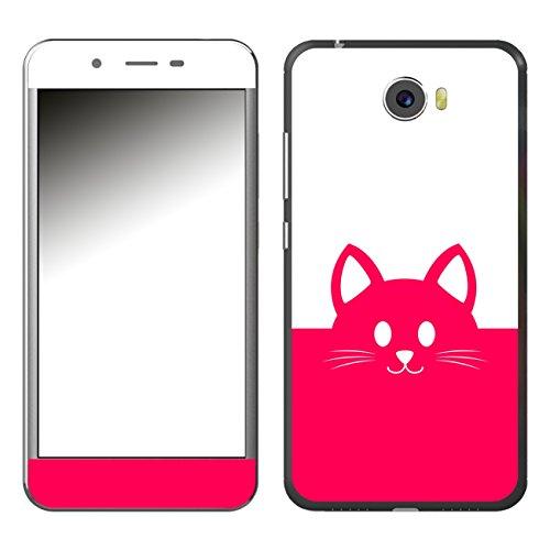 Disagu SF-106921_1018 Design Folie für Archos 50 Cobalt - Motiv Kawaii Katzengesicht pink