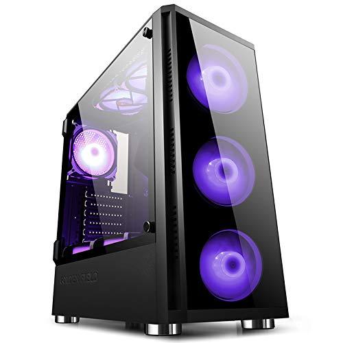 Mini-ITX con Finestra Laterale ATX Z20 Case per PC da Gaming Computer E-ATX Micro-ATX GOLDEN FIELD
