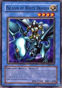 Yu-Gi-Oh! - Paladin of White Dragon (SKE-024) - Starter Deck Kaiba Evolution - 1st Edition - Common