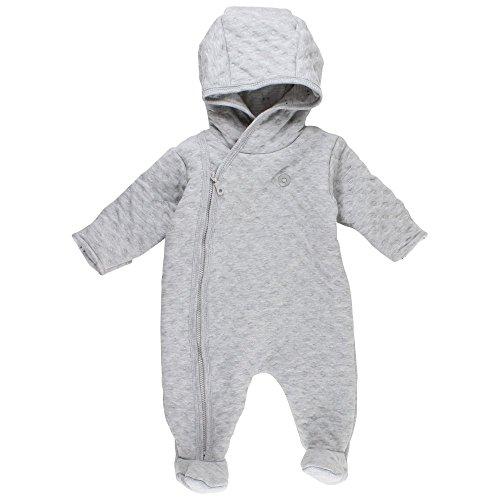 Fixoni Grow Wholesuit, Combinaison de Ski Mixte bébé, Grau Grey Melange 01-71, 1 Mois