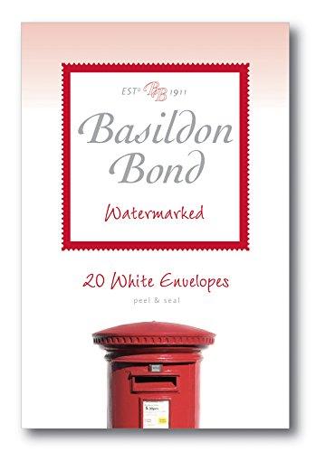 Basildon Bond Duque 95x 143mm autoadhesivos y Envelope–Blanco (Pack de 20)
