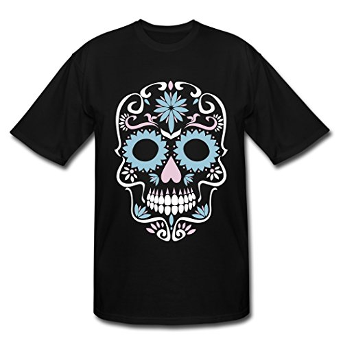 American Taste Tribay Sugar Skull Black Clothing for Men M