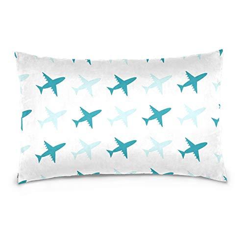 colormu Las Fundas de Almohada de Tiro del sofá Cama Cubren el Transporte del Terciopelo del algodón para la impresión y Las materias Textiles