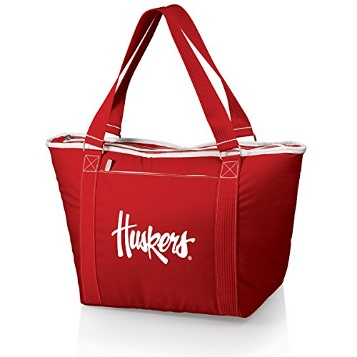 Picnic Time, borsa termica Topanga, Refrigeratori/Totes, 619-00-100-404-0, Rosso, 21 x 8.7 x 13
