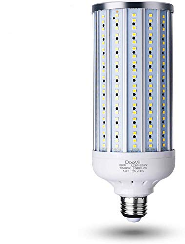 60 Watt LED Corn Light Bulb(500W Equivalent),5500 Lumen...