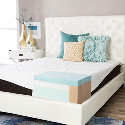 Simmons Beautyrest Comforpedic from Beautyrest Choose Your Comfort 10-inch Gel Memory Foam Mattress Firm Queen