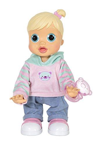IMC Toys 96325 Baby Wow Zoe - Bambola impara ad alzarsi e caminare, 3 anni+
