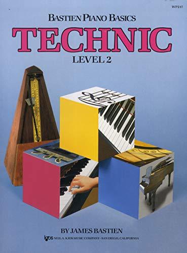 WP217 - Bastien Piano Basics - Technic Level 2