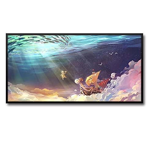 Cherry blossoms Serie de una pieza de dibujos animados y animación que cuelgan pinturas, carteles de la decoración de la sala de estar, pinturas de la cabecera de la habitación de los niños (Color: B)