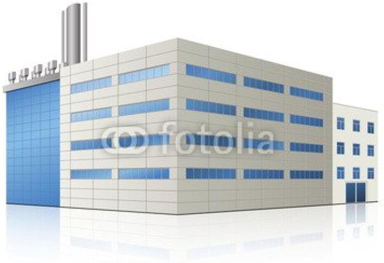 60% de descuento Factory building with offices and Production Production Production facilities (81823936), lona, 50 x 50 cm  venta