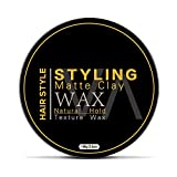 Hair Styling Clay for Men 3.5 OZ - Non-Greasy Matte Clays for Modern Hairstyles and Strong Hold -...
