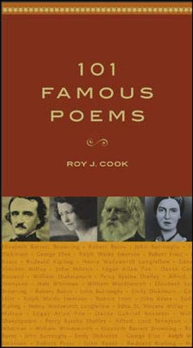 Compare Textbook Prices for 101 Famous Poems  ISBN 9780071419307 by Roy J. Cook