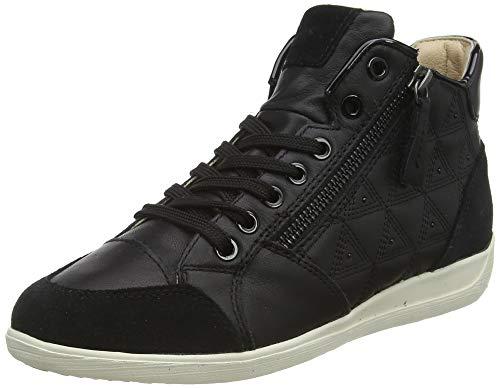 Geox D Myria B, Zapatillas Altas para Mujer, Negro (Black C9999), 41 EU