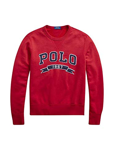 Polo Ralph Lauren Herren Sweatshirt Rot rot, Rot Medium