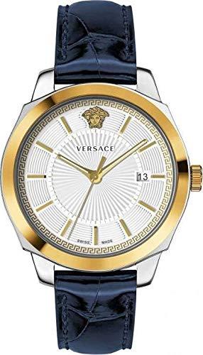 Versace Icon CLAS.42 D/W-SI S/BLU BICO V312 VEV9002 19 - Reloj de Puls