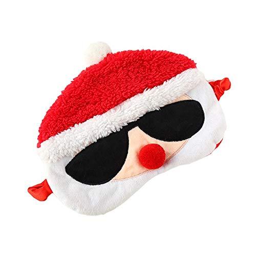 1 Stück Augenmaske Praktische Hohe Qualität Santa Form Stoff Augenbinde Eyeliner Augenschutz Maske...