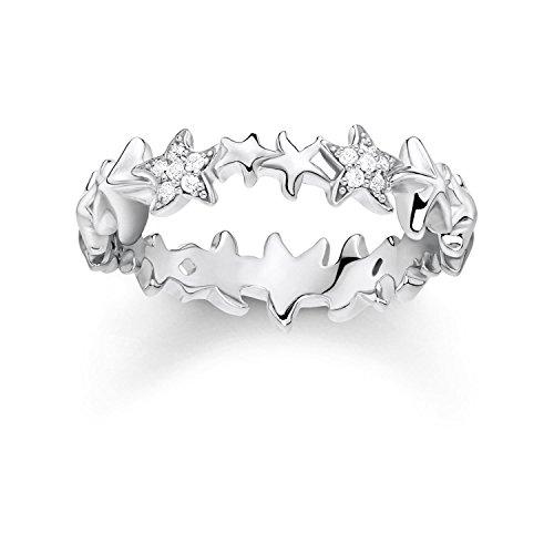Thomas Sabo Damen-Ringe 925 Sterlingsilber zirkonia '- Ringgröße 54 TR2183-051-14-54