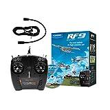 MALTA - リアルフライト9 デラックス 送信機型USBコントローラー&TX接続ケーブル付属 HORIZON版 RCフライトシミュレーター Real Flight 9 Horizon Hobby Edition / RF9-DX