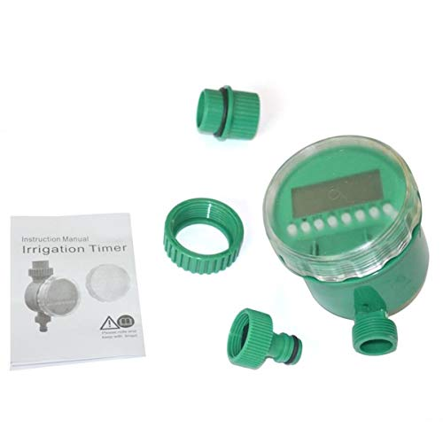 Cosye Automatischer digitaler LCD-Elektro-Bewässerungs-Timer Bewässerungsregler Bewässerungsprogramme Hausgarten-Rasenwasser-Timer