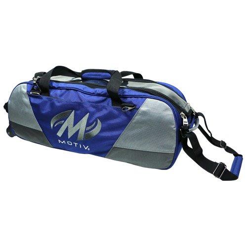 Motiv und Ballistix 3Ball Tote Bowling Bag Schwarz/Grau/Blau