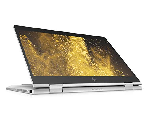 HP EliteBook x360 830 G6 (13,3 Zoll / Full HD) Business Convertible (Intel Core i5-8265U, 8GB DDR4 RAM, 512GB SSD, 32GB Intel Optane, Intel UHD Grafik 620, Windows 10) silber inkl. Pen