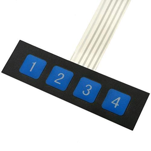 BeMatik AK072 toetsenbord met 4 toetsen voor online membraan