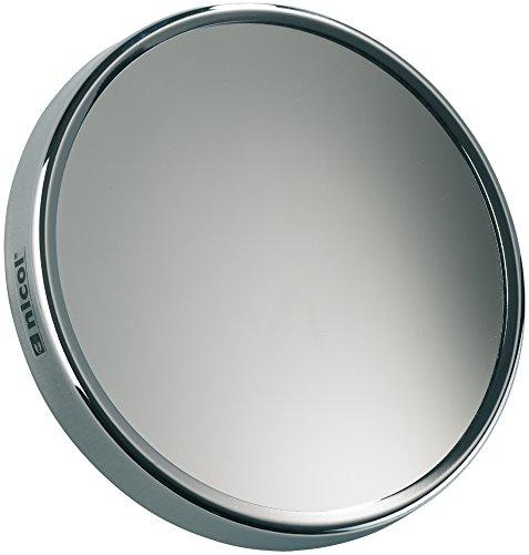 Nicol 4022850 Nena Kosmetikspiegel 10-fach Vergrößerung Aufsatzspiegel mit Saugnäpfen