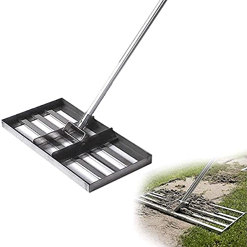 HTDHS Golf Golf Garden Garden Erba, Strumento, Piastra -accata, Terreno Livello o superfici di Terra, Acciaio Inossidabile, livellamento e Amplificatore;Risultati della rimozione dei detriti w