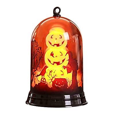 Bxzhiri Halloween Lanterns Decoration Happy Halloween Small Lampshade Pumpkin Decoration Home Furnishing Lights