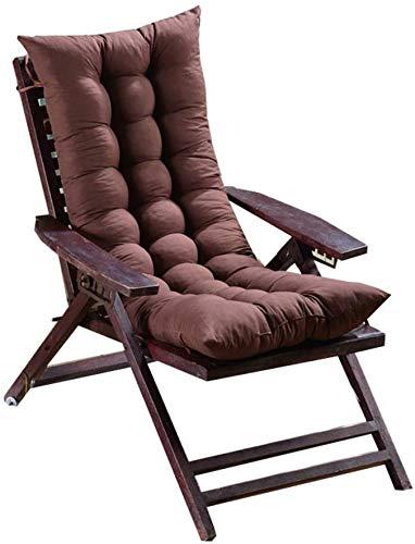 Cojín de silla mecedora con amarres,engrosamiento de cojín para una silla con respaldo alto,color...
