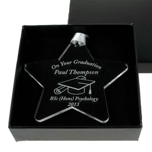 Personalised Graduation Acrylic Star Keepsake Boys Graduation gift Girls graduation gift Star graduate  sc 1 st  Amazon UK & Graduation Gifts for Girls: Amazon.co.uk
